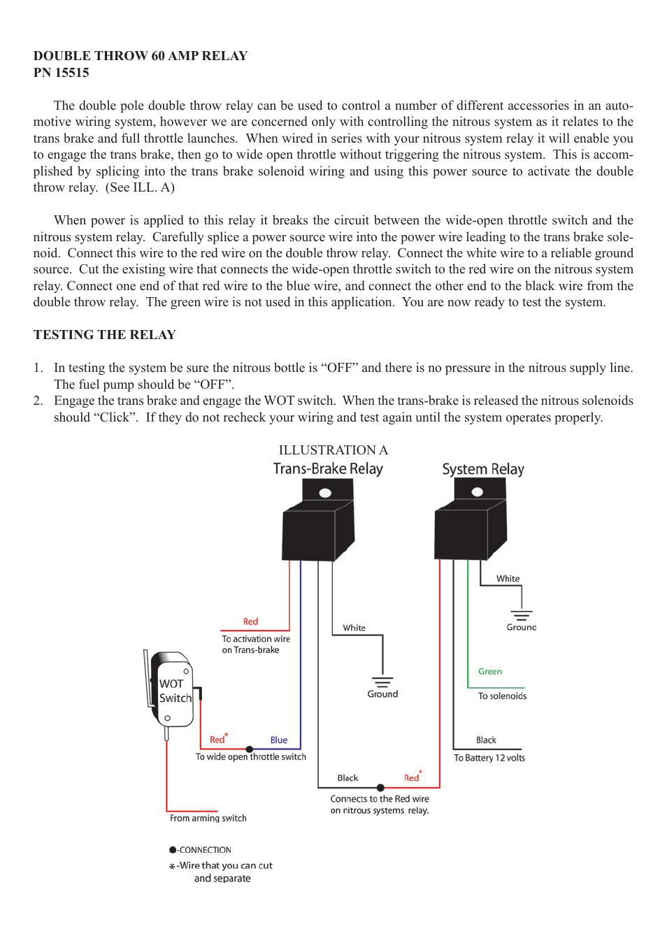 medium resolution of wiring diagram for nitrou system