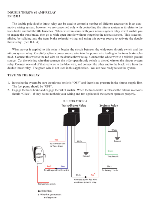 small resolution of wiring diagram for nitrou system