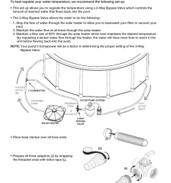 poolmaster 59025 above ground pool solar heater user manual page 6 13 [ 954 x 1235 Pixel ]