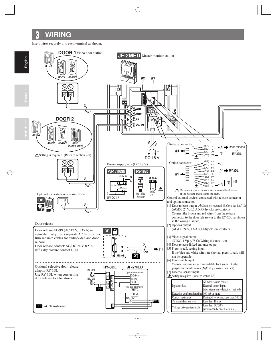 AIPHONE JF-2MED MANUAL PDF