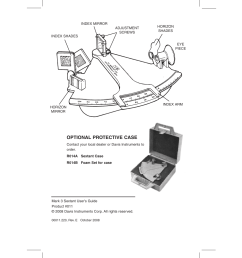 optional protective case davis mark 3 sextant user manual page 2 20 [ 954 x 1235 Pixel ]