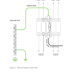 figure 2 wiring diagram rear view green wire white wire dcfigure 2 wiring diagram [ 954 x 1475 Pixel ]