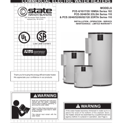 state pce 120 2orta user manual 24 pages also for pce 82 2orta pce 66 2orta pce 52 2orta pce 40 2orta pce 30 2orta pce 50 2olsa  [ 954 x 1235 Pixel ]