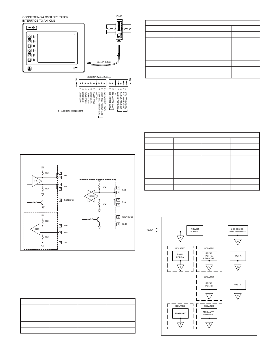 hight resolution of examples of rs485 2 wire connections dh485 communications g3 to modular controller