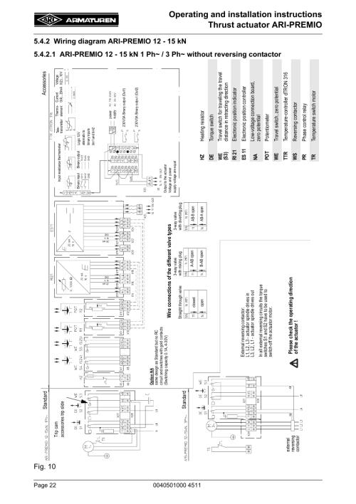 small resolution of 2 wiring diagram ari premio 12 15 kn ari armaturen ari premio