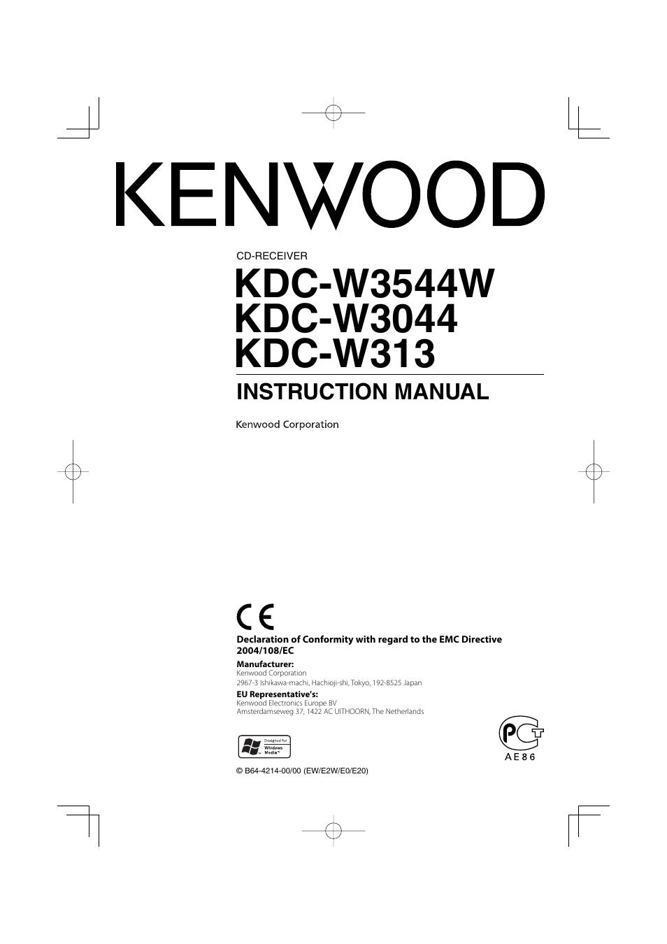 Kenwood Kdc Mp235 Wiring Diagram Manual