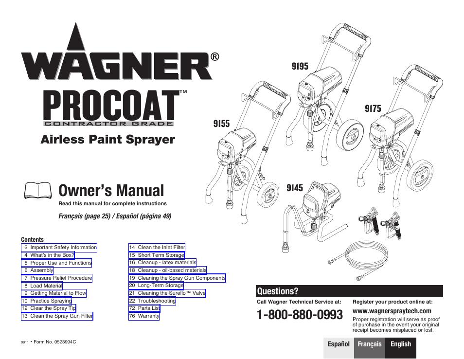 Wagner Paint Crew Plus Manual Pdf