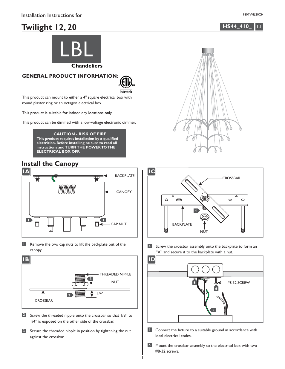 hight resolution of lbl lighting twilight 20 chandelier user manual 8 pages also for twilight 12 chandelier