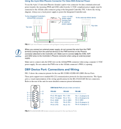 db9 device port connections and wiring amx netlinx integrated controllers nxi x000 series user manual page 30 38 [ 954 x 1235 Pixel ]