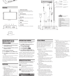 connections wiring diagram with iva d105 specifications alpine blackbird docking adapter pmd dok2 user manual page 2 2 [ 954 x 1350 Pixel ]