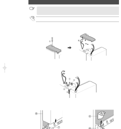 removing the refrigerator doors removing the freezer door samsung rs2555sl xaa user manual [ 954 x 1351 Pixel ]