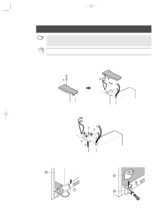 small resolution of removing the refrigerator doors removing the freezer door samsung rs2555sl xaa user manual