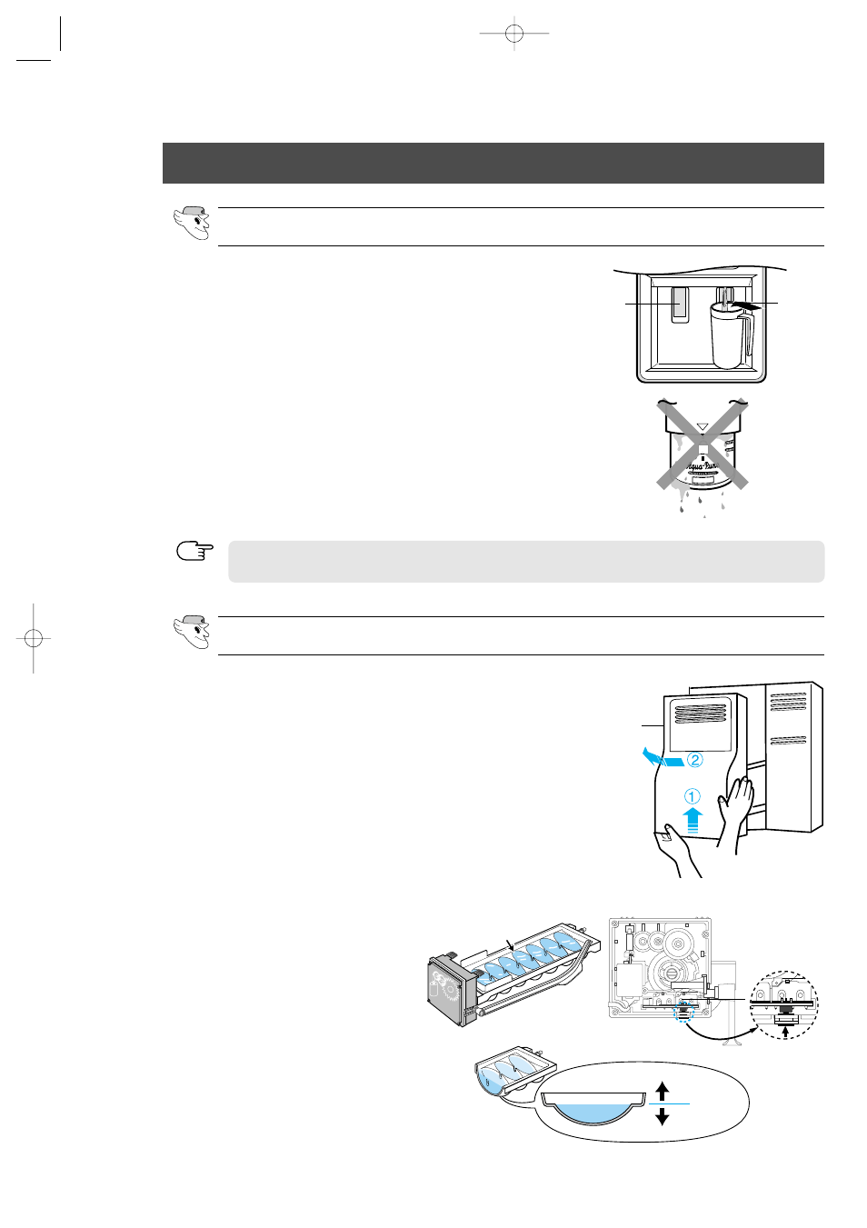 hight resolution of installation of the water dispenser line samsung rs2555sl xaa user manual page 28