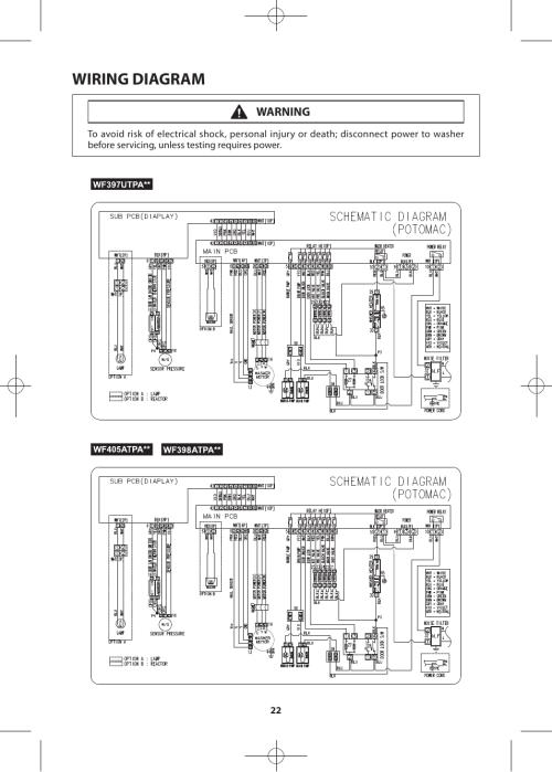 small resolution of wiring diagram warning samsung wf405atpasu a2 user manual page 22 72