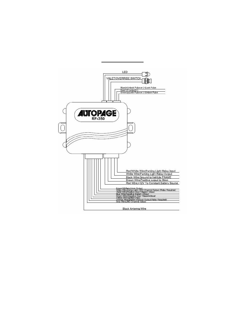 medium resolution of autopage wiring diagram wiring diagram dat autopage rf 220 wiring diagram autopage wiring diagram