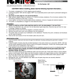 pertronix ignitor 1281 user manual 4 pages [ 954 x 1235 Pixel ]