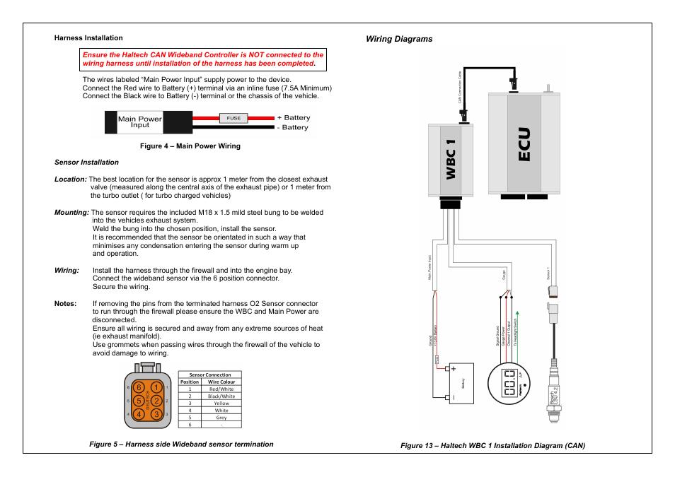 haltech interceptor platinum wiring diagram kenworth radio manual e books series can wideband controller wbc 2 ht059980haltech