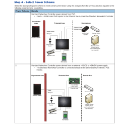 step 4 select power scheme standard networked controller power hid relay diagram hid edge eh400 wiring diagram [ 954 x 1235 Pixel ]