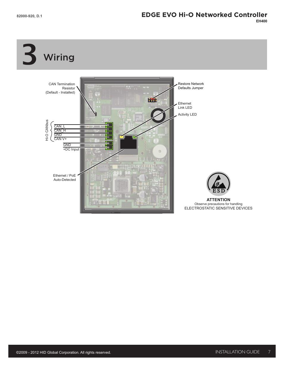 medium resolution of 3 wiring wiring edge evo hi o networked controller hid edge3 wiring wiring