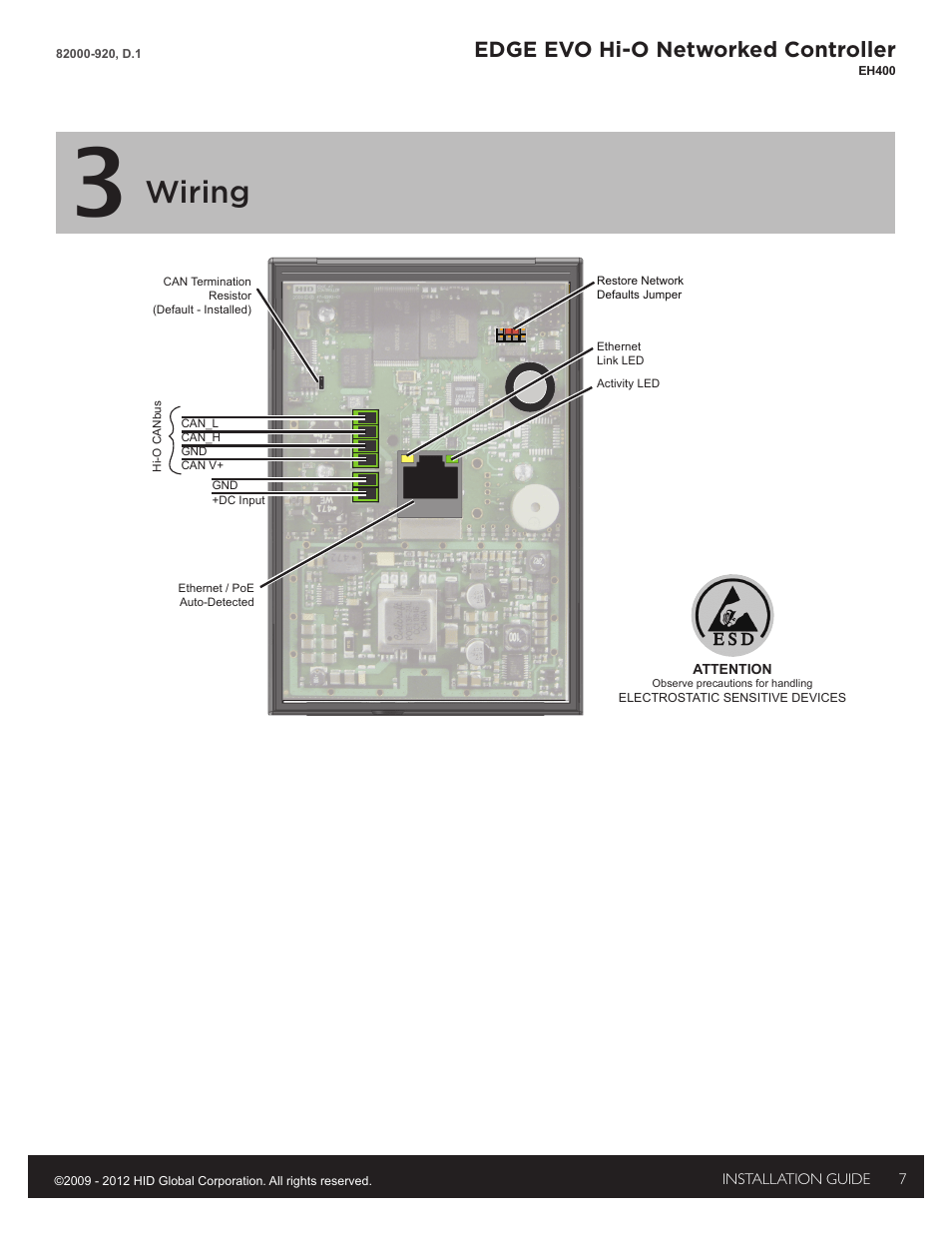 hight resolution of 3 wiring wiring edge evo hi o networked controller hid edge3 wiring wiring
