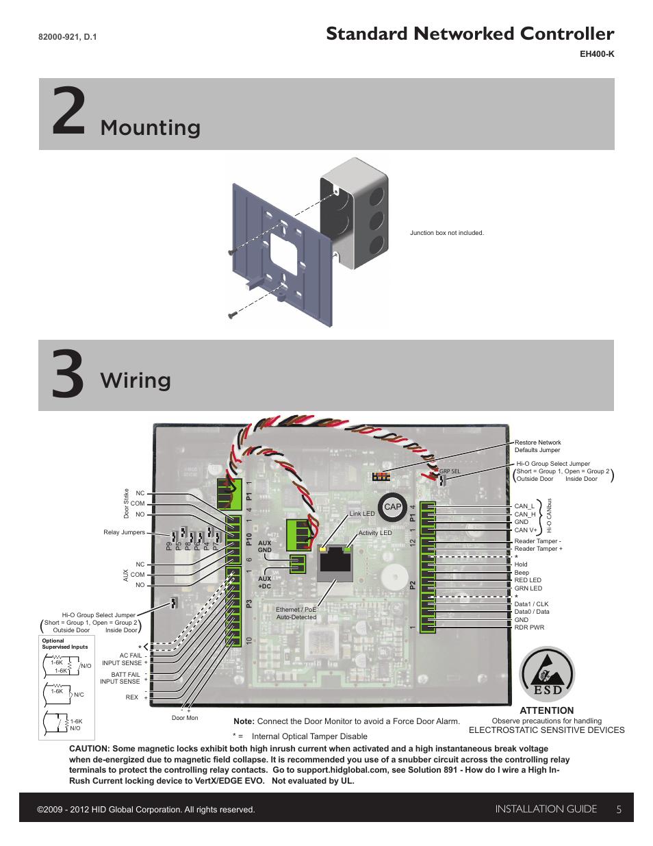 medium resolution of 2 mounting 3 wiring mounting hid edge evo solo esh400 k2 mounting 3