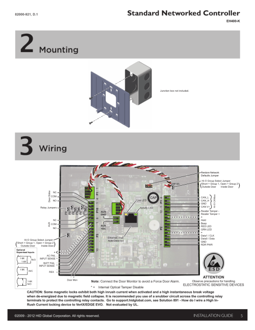 small resolution of 2 mounting 3 wiring mounting hid edge evo solo esh400 k2 mounting 3