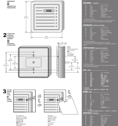 proxpro hid wiring diagram wiring diagrams konsulthid proxpro ii installation guide user manual 2 pages hid [ 954 x 1475 Pixel ]