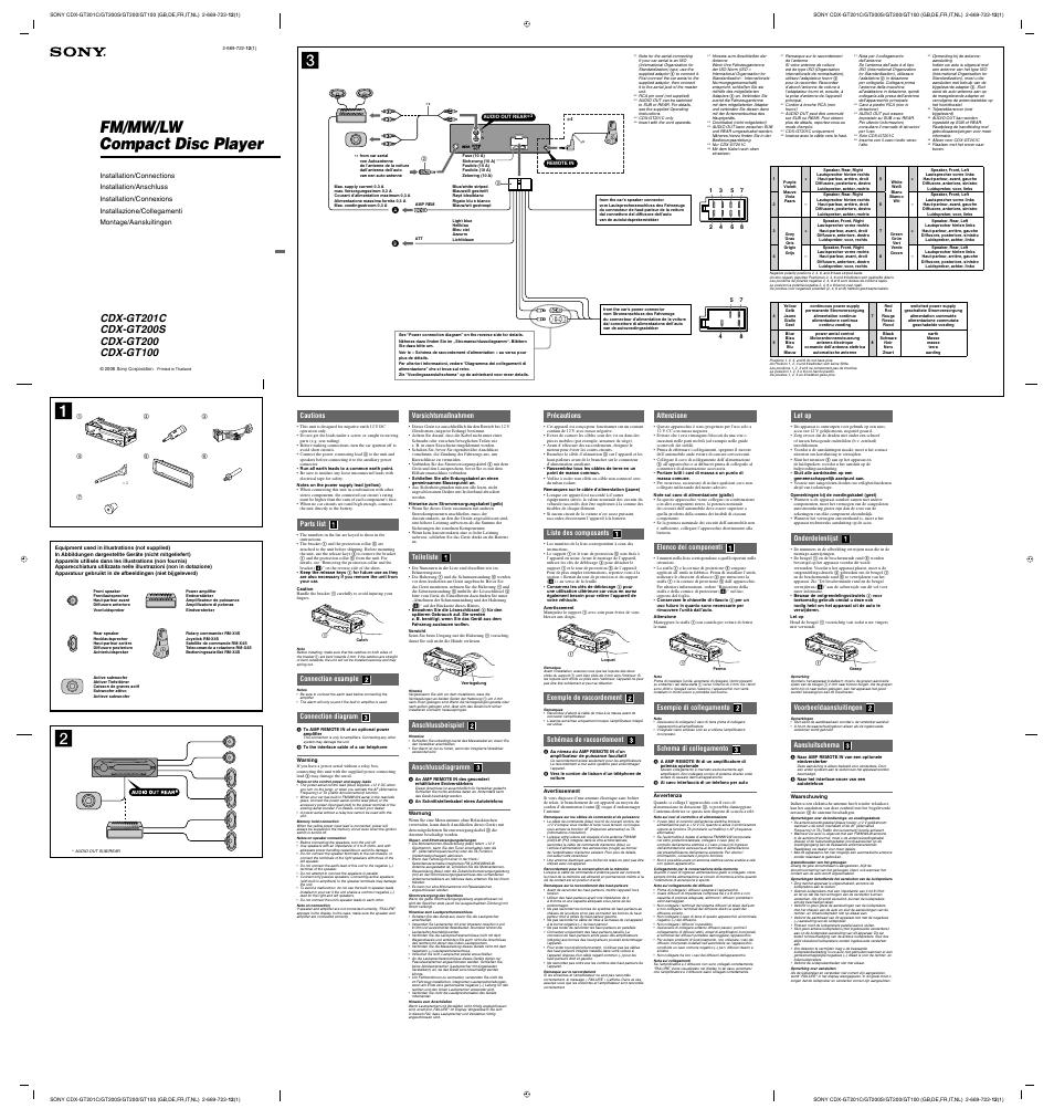medium resolution of sony cdx gt100 wiring diagram wiring diagram database sony cdx gt100 wiring harness diagram wiring diagram