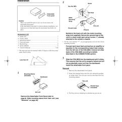 Alpine Cda 9856 Wiring Diagram Wall Switch Installation User Manual Page 32 103