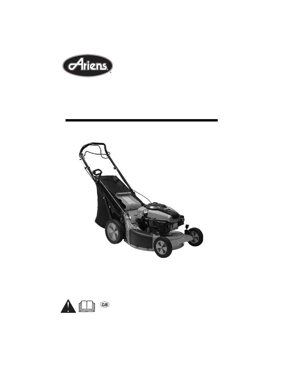 Ariens lm21sw manual