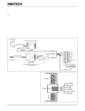 Usb485, Vc485, Rs232 | Kantech KT400 User Manual | Page 26  44