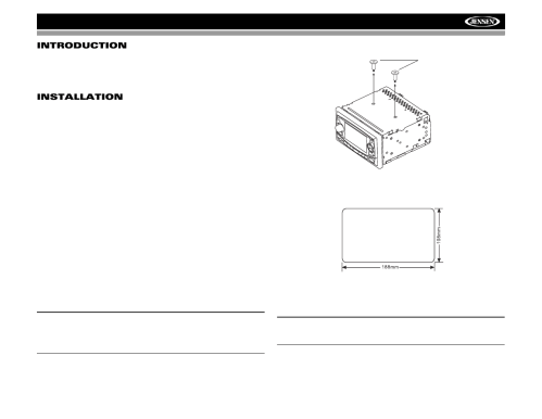 small resolution of audiovox jensen vm8022 user manual page 5 24 jensen dvd player wiring diagram