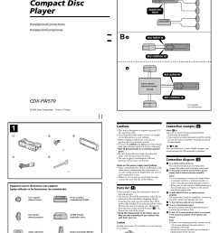 sony cdx fw570 user manual 4 pages sony cdx fw570 wiring diagram [ 954 x 1350 Pixel ]