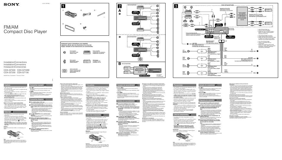 [DIAGRAM] Cdx Gt130 Wiring Diagram FULL Version HD Quality