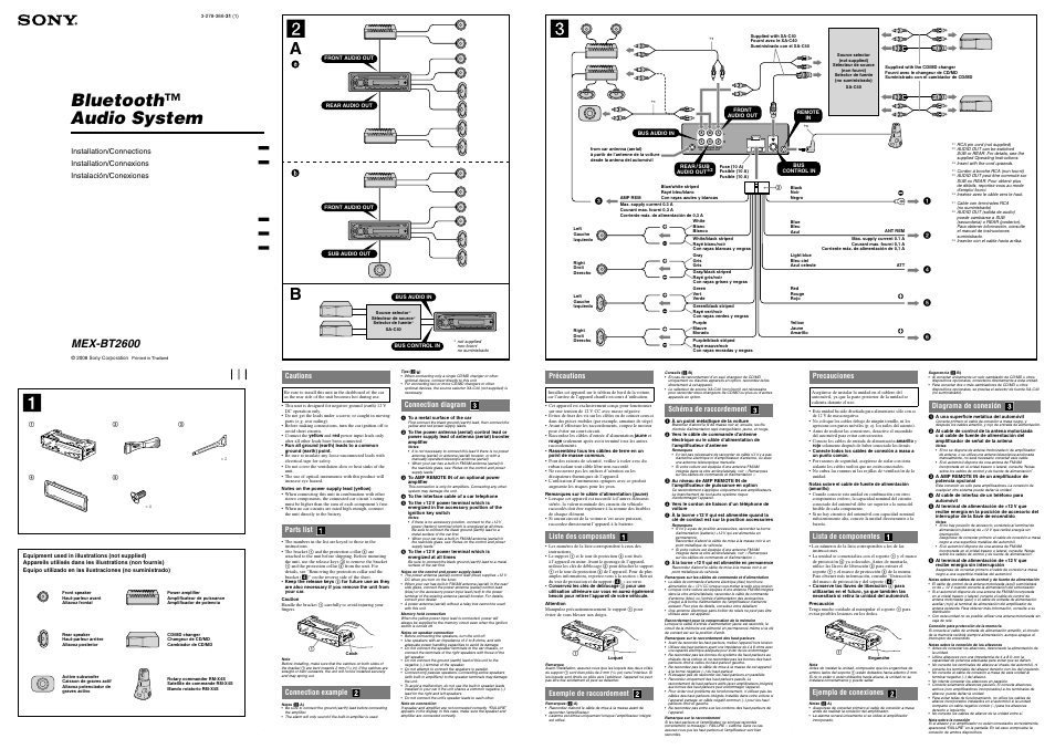[DIAGRAM] Sony Mex Dv2000 Car Stereo Wiring Diagram FULL