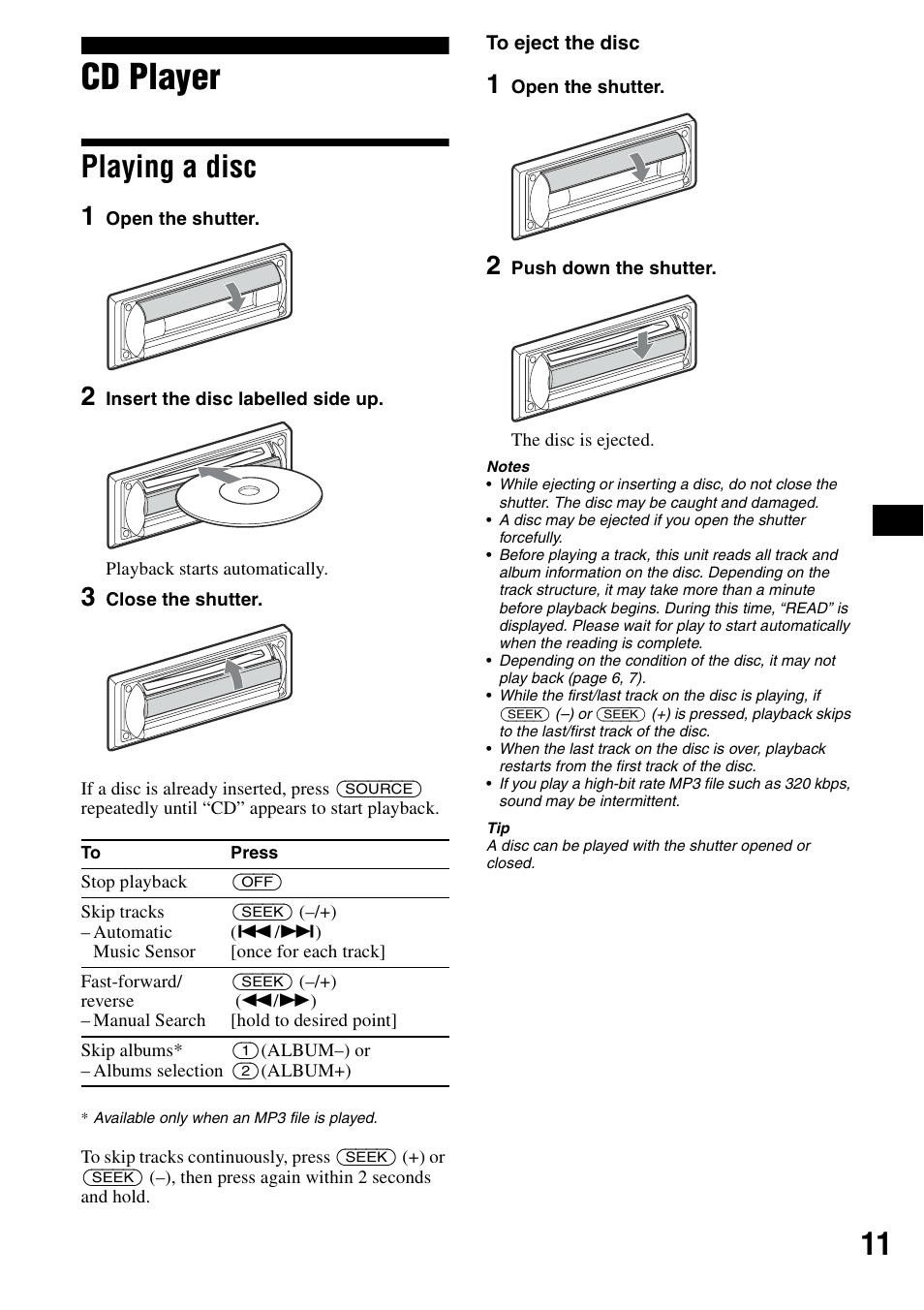CDX-R3300 MANUAL PDF