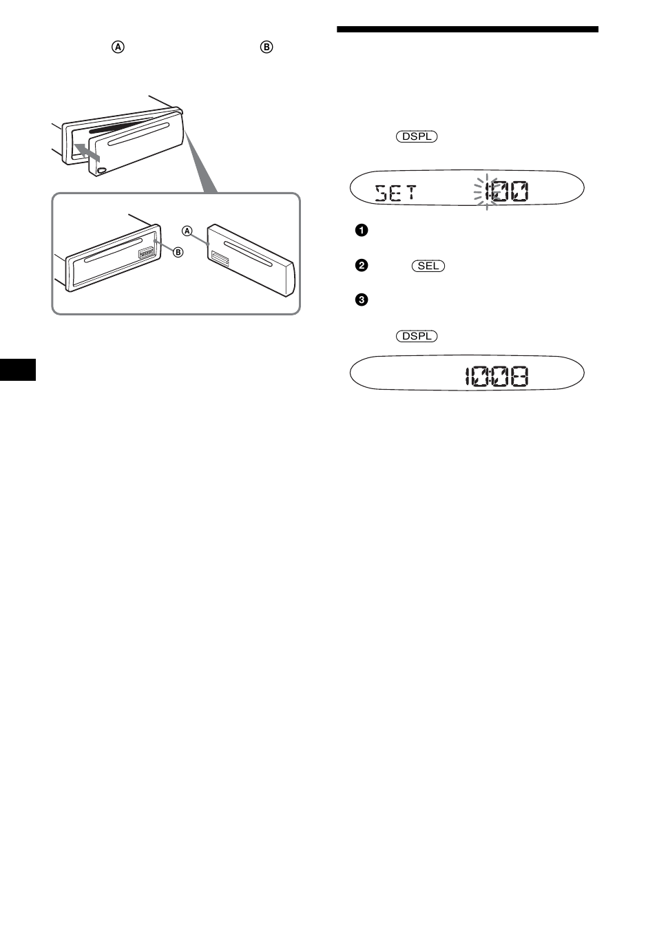 sony cdx sw200 wiring diagram 2007 ford fusion headlight setting the clock user manual page 8 40