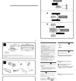 sony mex 5di user manual 4 pages wiring harness sony mex 5di [ 954 x 1355 Pixel ]