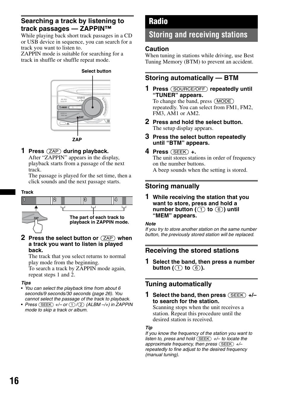 hight resolution of sony mex bt38uw user manual page 36 72 original mode