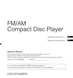 sony cdx gt25mpw wiring diagram radio [ 954 x 1352 Pixel ]