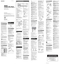 sony cdx gt07 user manual 2 pagescdx gt07 wiring diagram 6 [ 954 x 1016 Pixel ]
