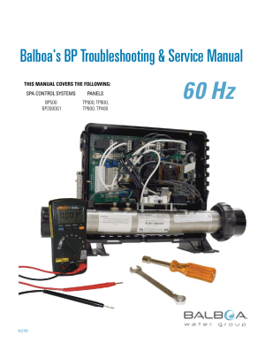 Balboa Water Group BP 60Hz User Manual | 86 pages