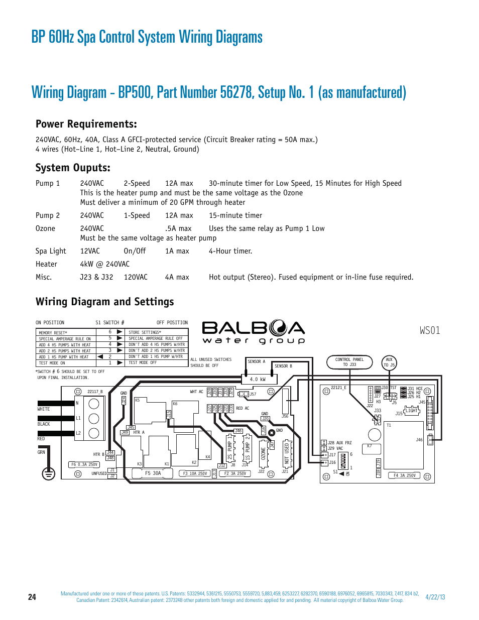 balboa v series wiring installation manualsmall resolution of bp 60hz spa control system wiring diagrams power requirements balboa spa wiring diagrams