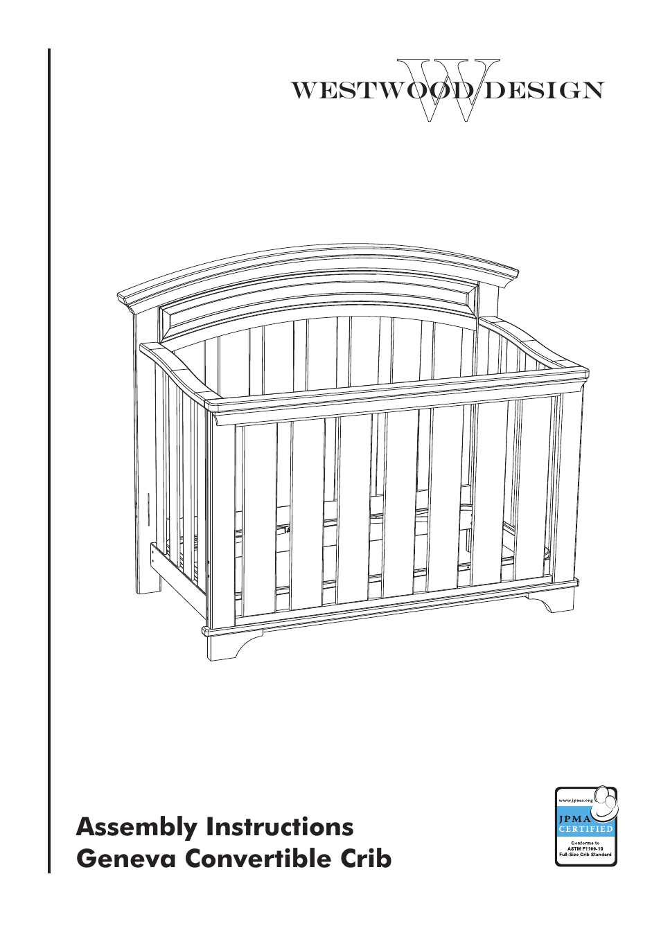3 In 1 Crib Instructions Manual