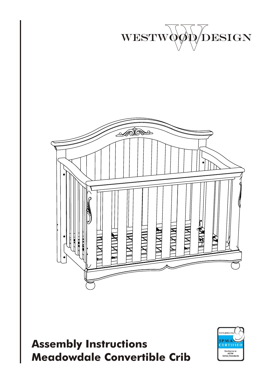 Westwood Design Meadowdale Crib Always There Hardware User