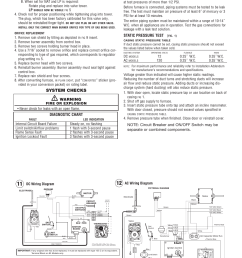 system checks warning diagnostic chart propane gas pressure test static pressure test [ 954 x 1235 Pixel ]