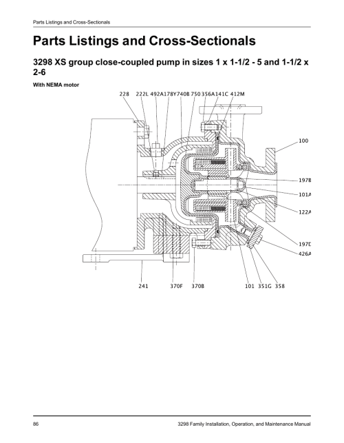 small resolution of goulds lsp 1 3hp 3 4hp submersible sump pump gould jet pump service manual