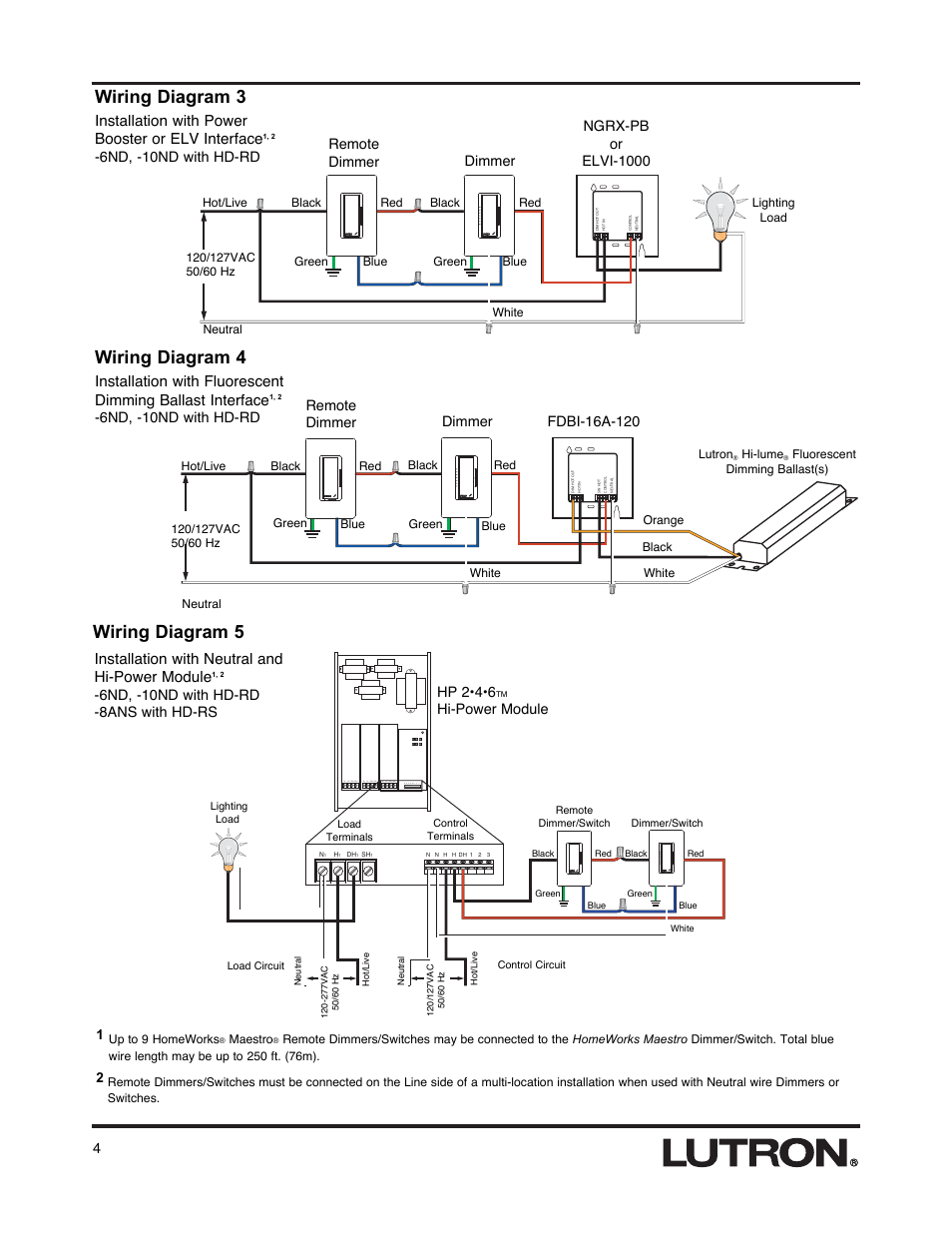 hight resolution of wiring diagram 3 wiring diagram 4 wiring diagram 5 lutron hd rswiring diagram 3