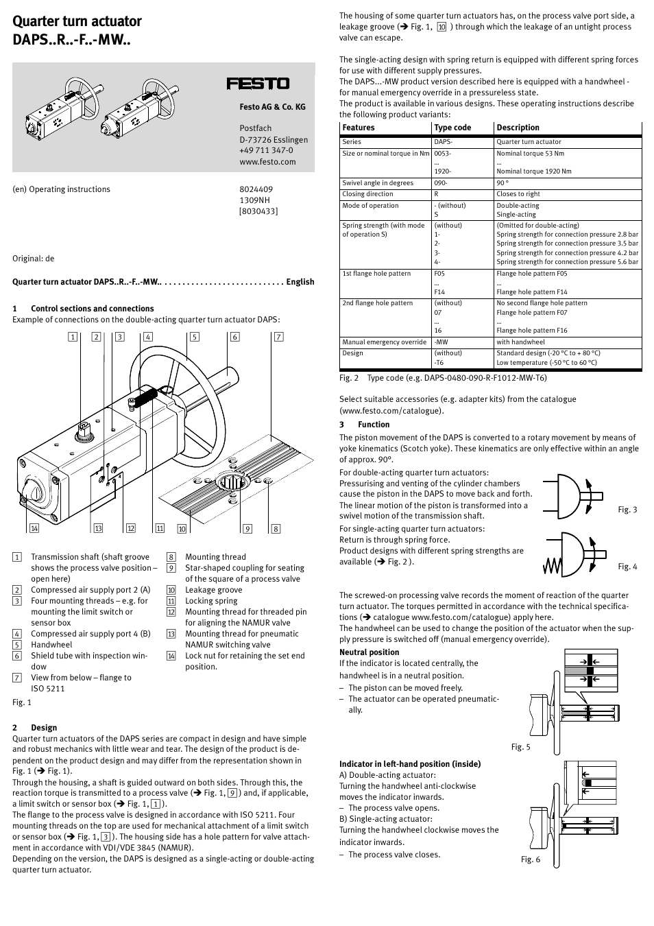hight resolution of festo sypar daps user manual 5 pages also for daps