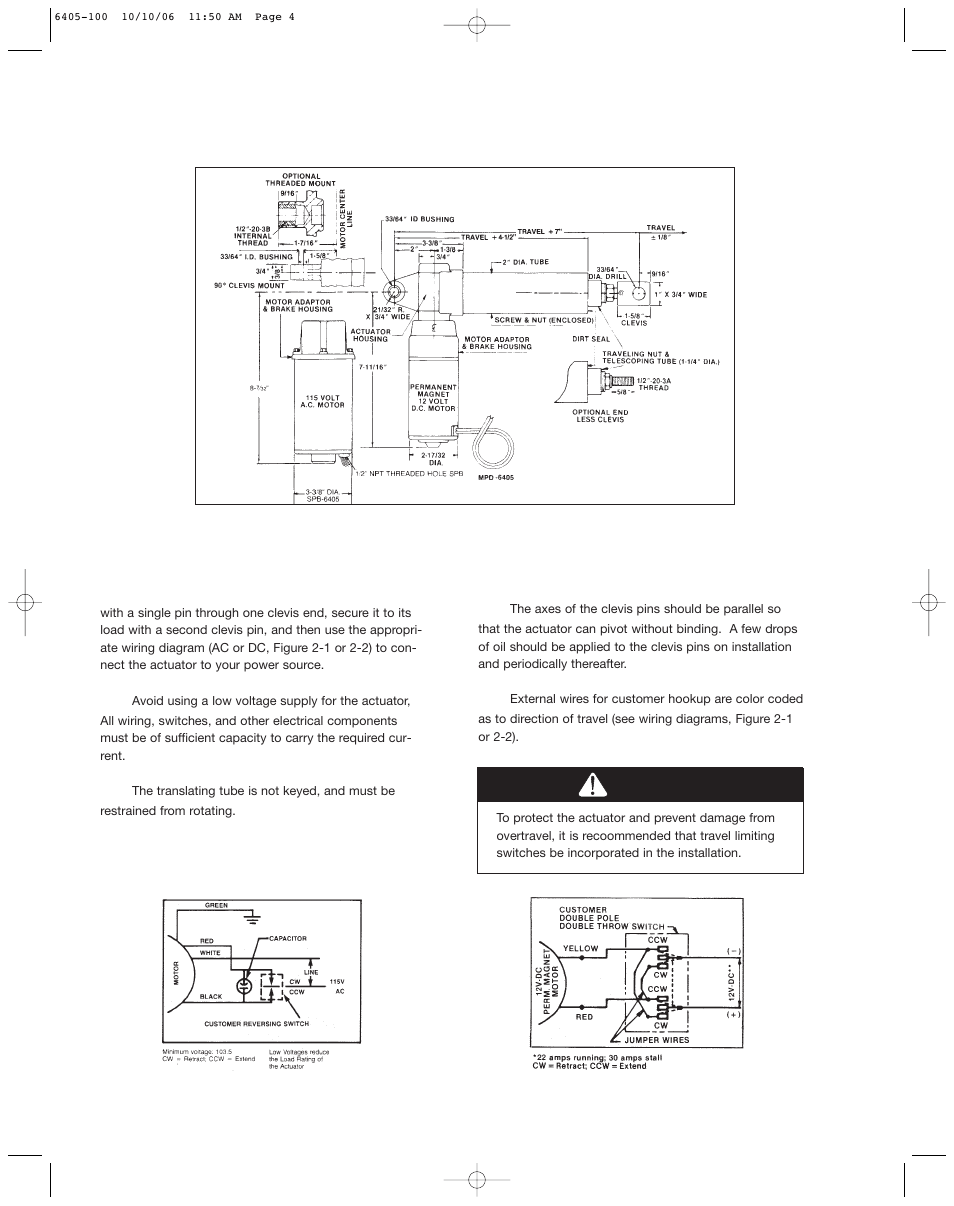 medium resolution of duff norton actuator wiring diagram wiring diagrams duff norton actuator wiring diagram caution duff norton sk6405